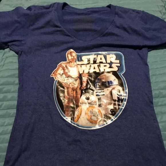 Disney Tops - Disney Store Star Wars Droid Tee. Size Small.